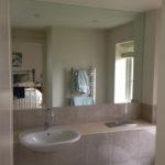Glass Bathroom Splashback ideas
