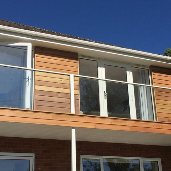 external glass balustrades toughened glass
