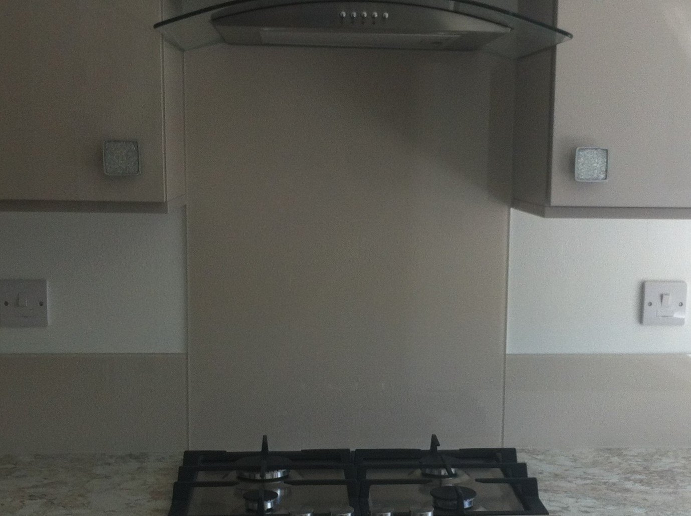 Almond Kitchen Splashback