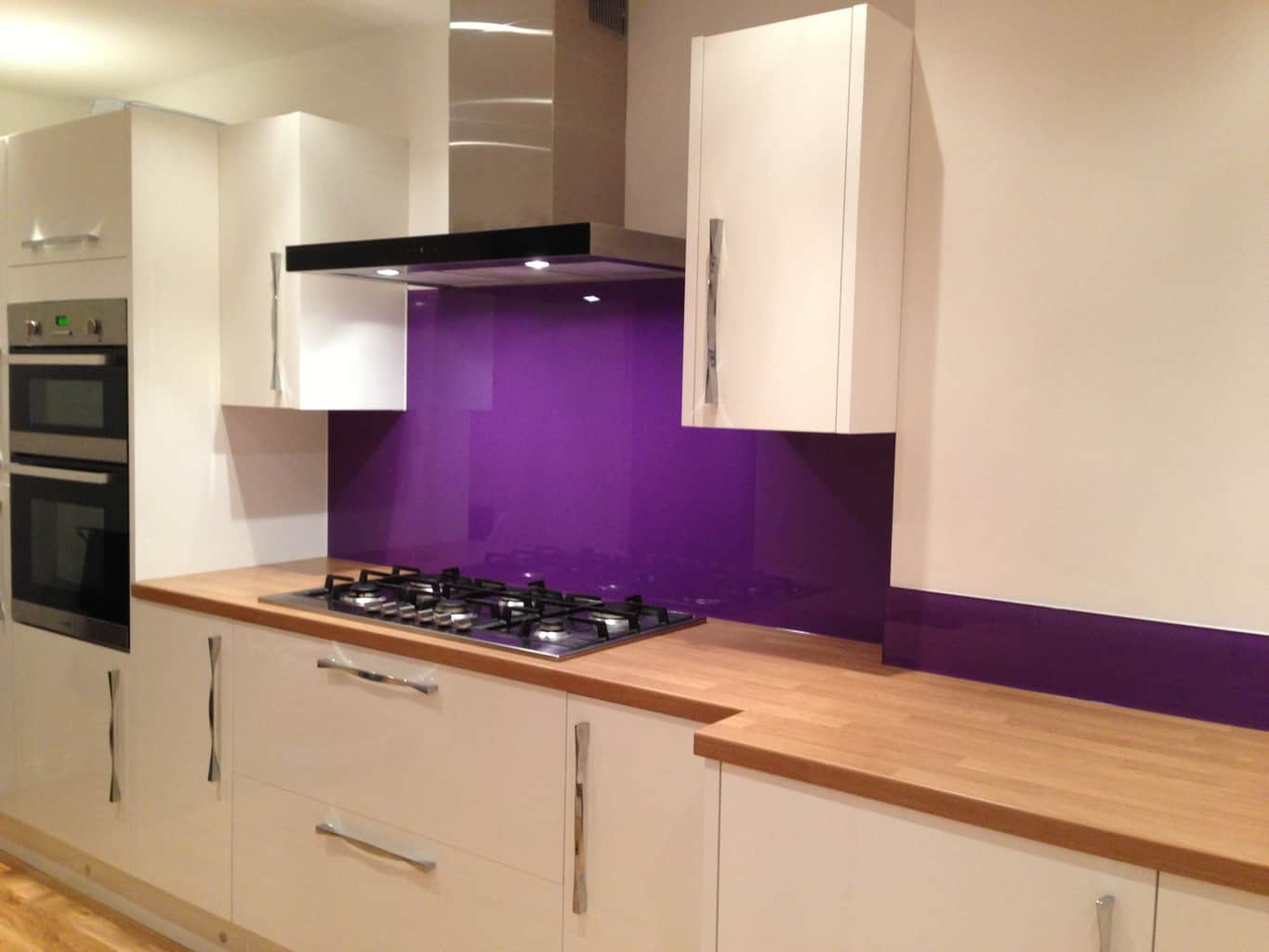 amethyst glass splashback uk