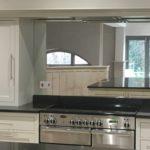 Antique Mirror kitchen splashback