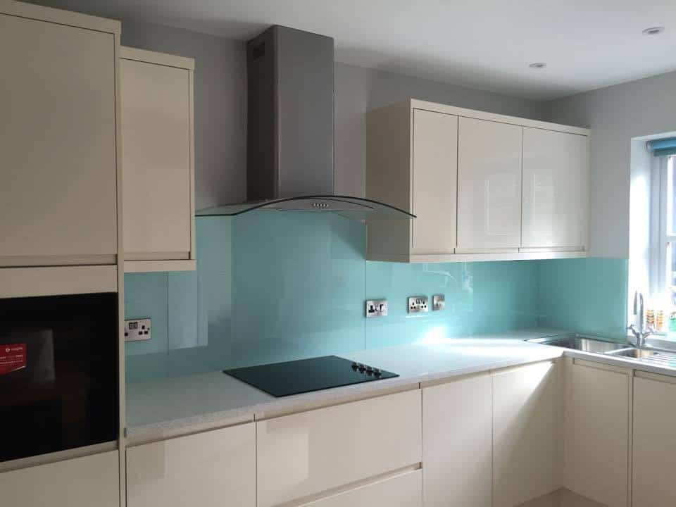 Coloured Glass Kitchen Splashbacks Worktops