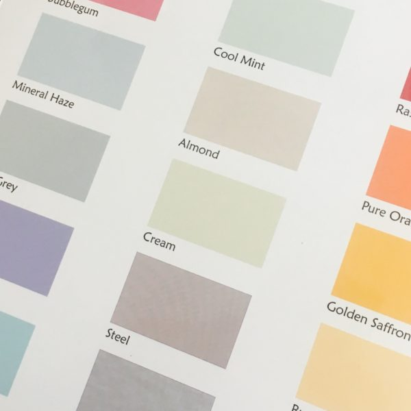 glass splashback colour ideas