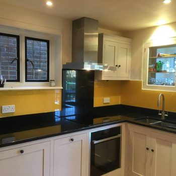 Buttercup Glass Splashbacks uk