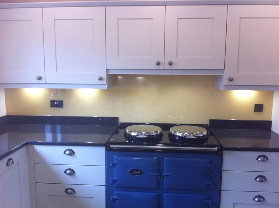 Buttercup Splashback Kitchen Splashbacks
