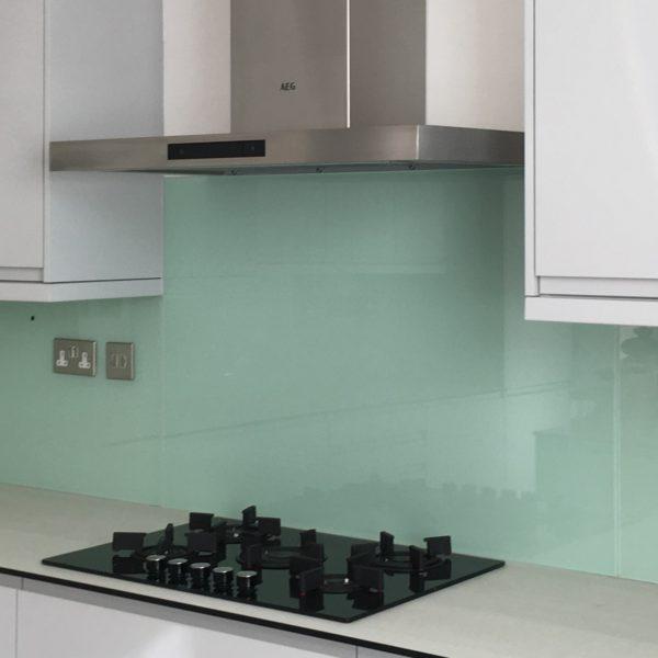 Glass Splashback Kitchen Bathroom