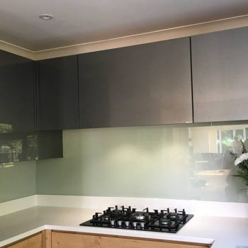 green glass splashback uk