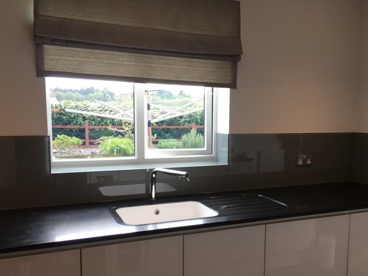 Grey Colourmatch Kitchen Splashback