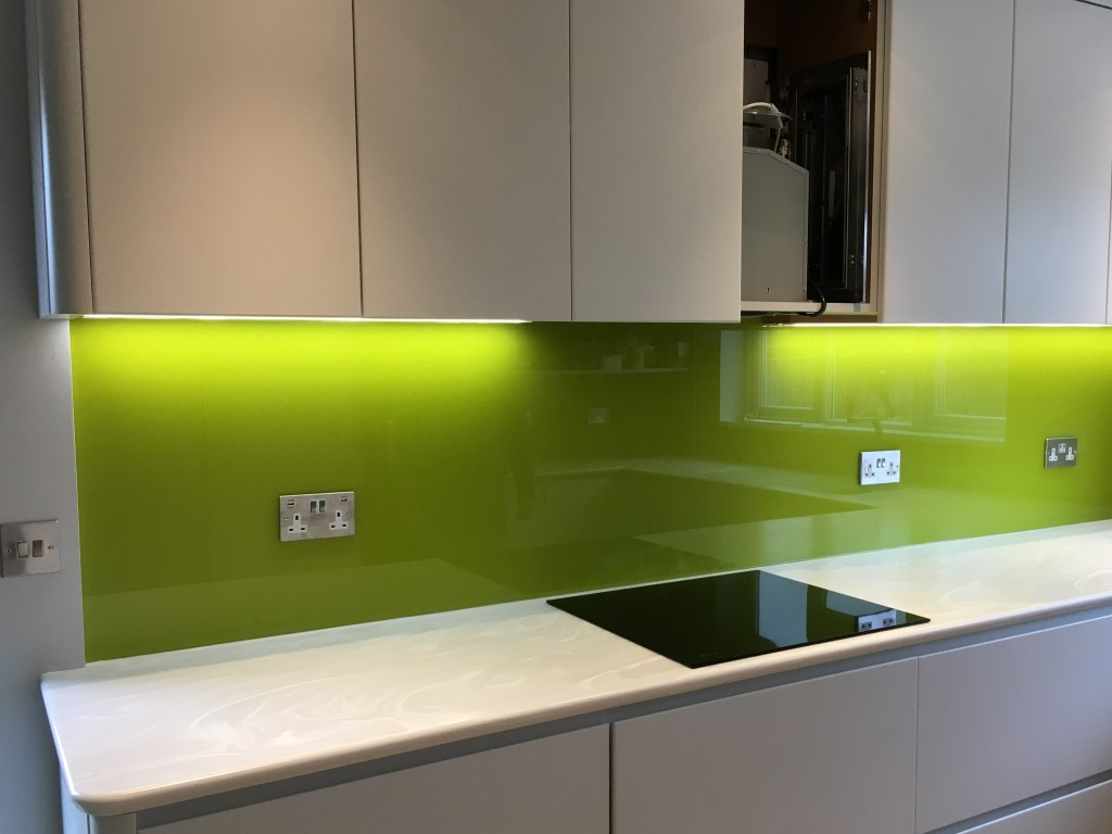 Kitchen Glass backsplash