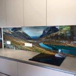 bespoke image glass splashback uk