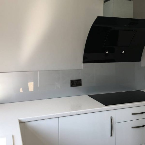 silver made to measure splashback