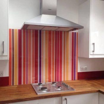 bespoke printed glass kitchen splashback uk