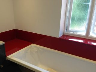 Bathroom Coloured Glass Splashbacks (1)