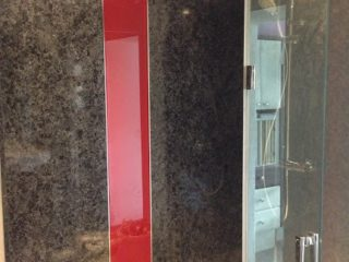 Bathroom Coloured Glass Splashbacks (5)