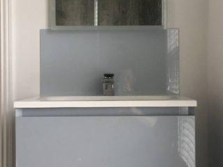 Bathroom Glass Splashback