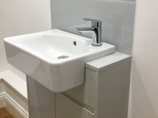 Bathroom Sink Splashback