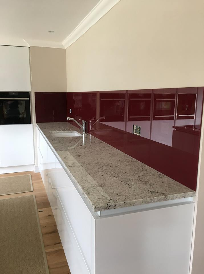 Bespoke Coloured Splashback
