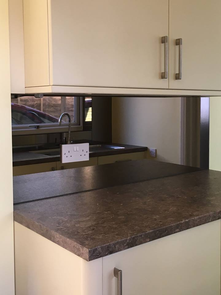 Bronze Kitchen Mirror Splashback