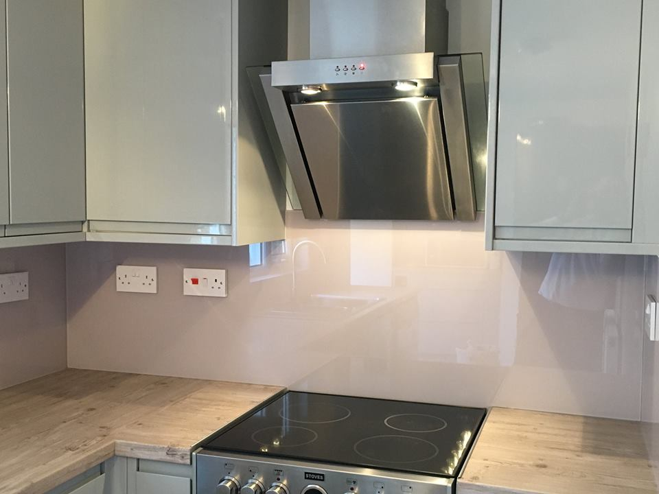Cloloured Splashback
