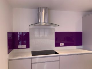 Coloured Glass Kitchen Splashbacks (1)