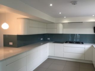 Coloured Glass Kitchen Splashbacks (10)