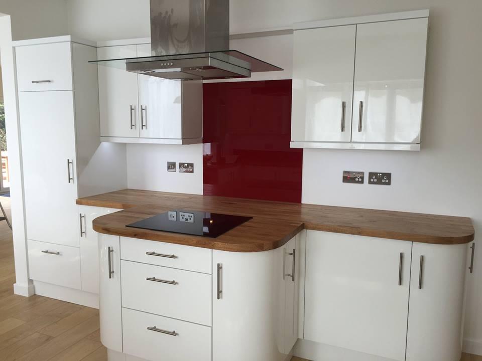 Coloured Glass Splashbacks For Kitchen Or Bathroom (2)