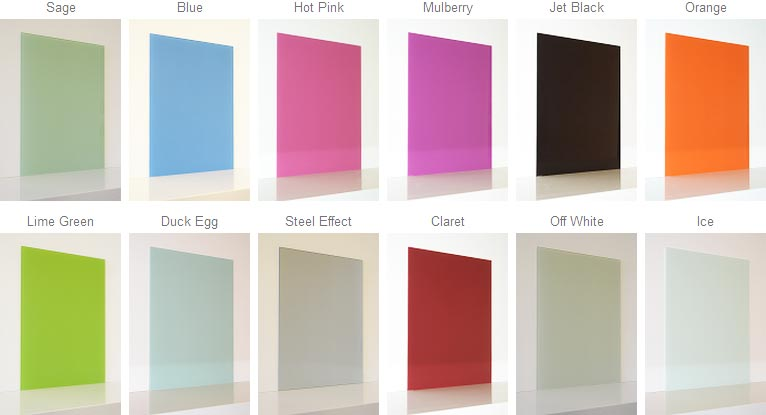 Coloured Glass Splashbacks Uk