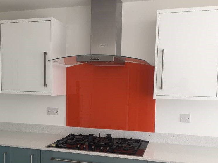 Kitchen Coloured Splashback (4)