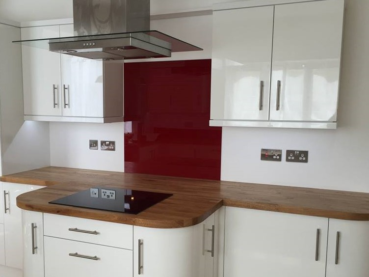 Kitchen Coloured Splashback (5)