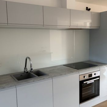 Kitchen Glass Pure White Splashbacks (4)