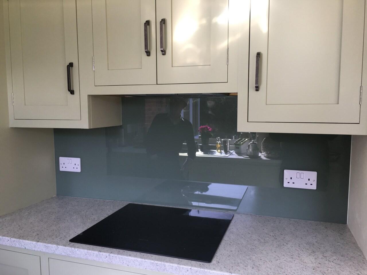 Kitchen Splashbacks Grey