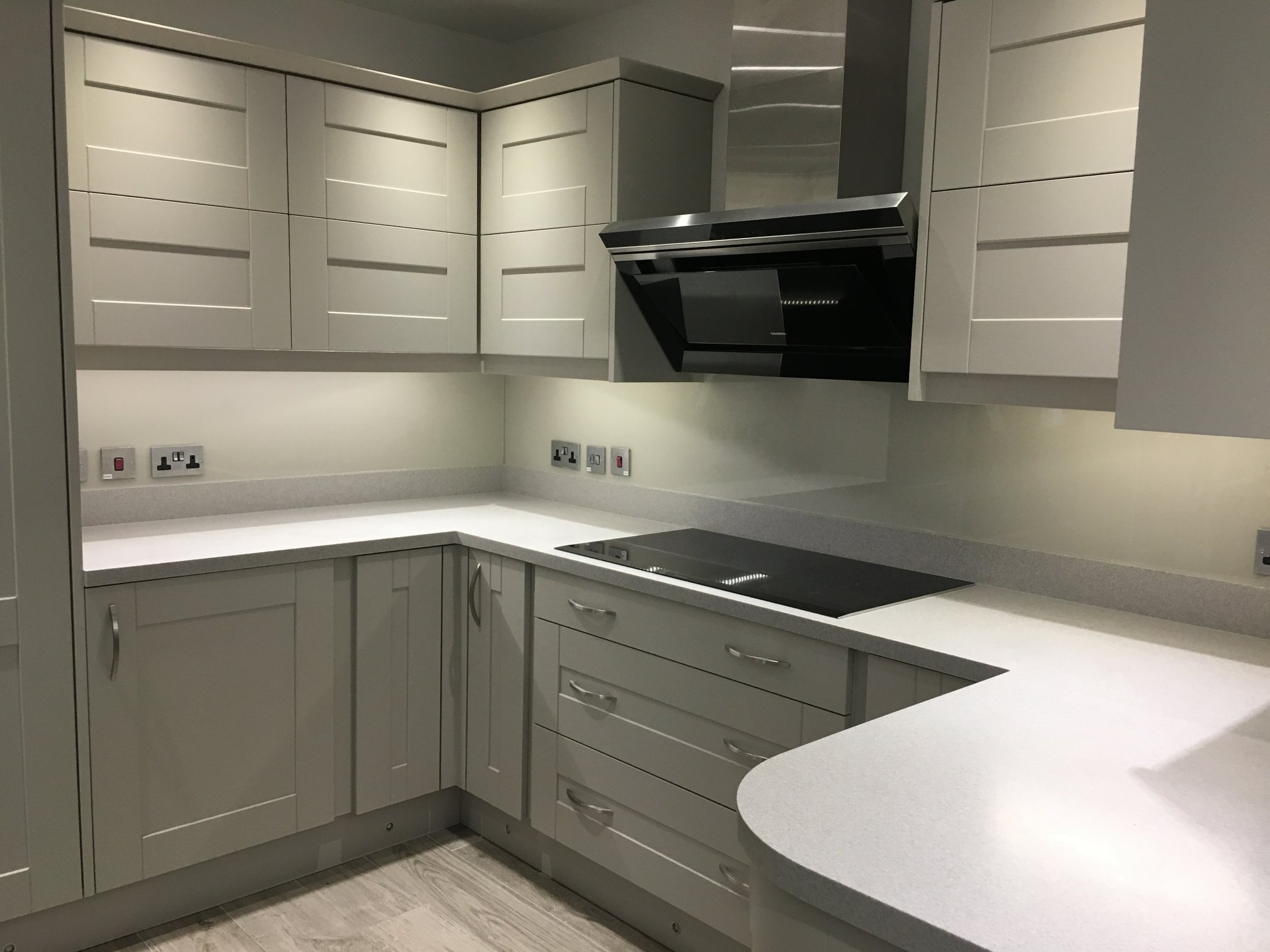 Kitchen Splashbacks White
