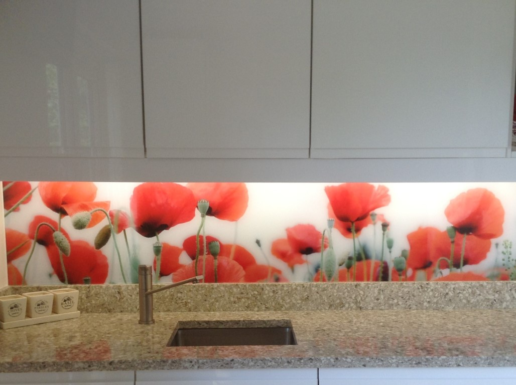 Laminated Glass Splashback