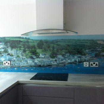 Laminated Image Kitchen Splashback (2)