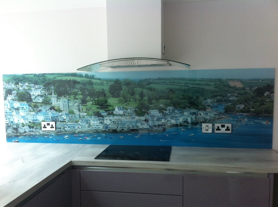 Laminated Image Kitchen Splashback (2)