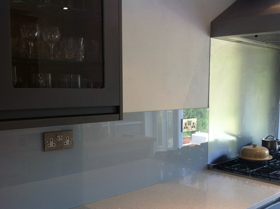 Mineral Haze Splashback For Kitchen