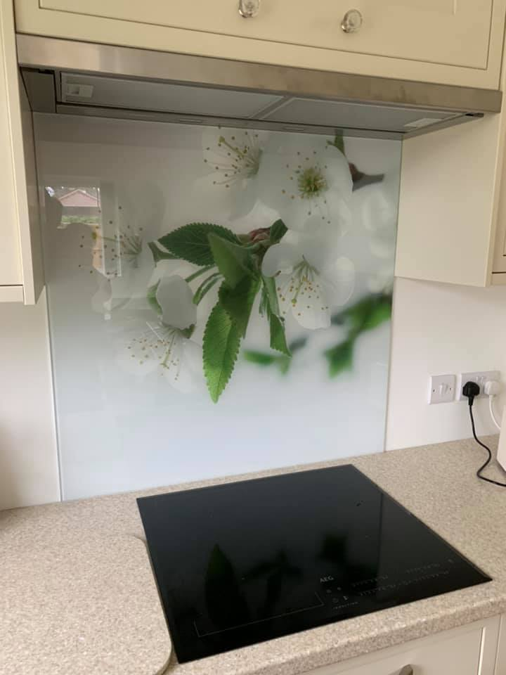 Patterned Bespoke Splashback