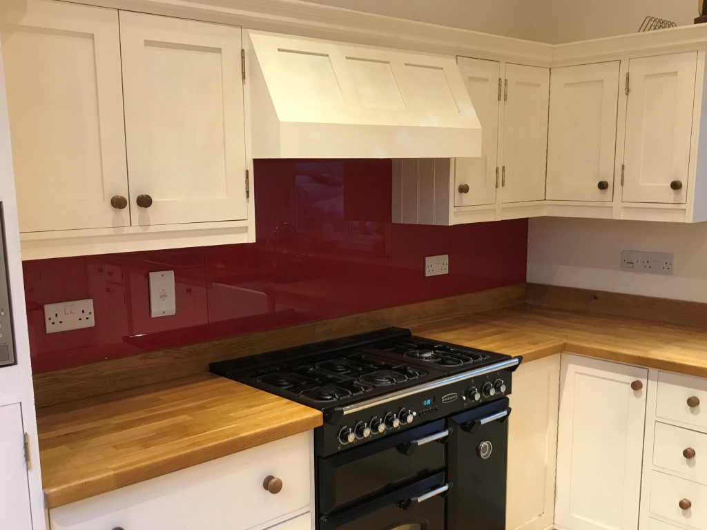 Red Raspberry Glass Kitchen Splashback (2)