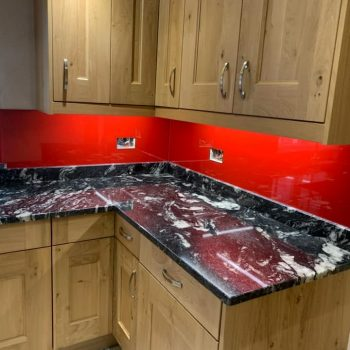 Red Sparkle Splashback (1)