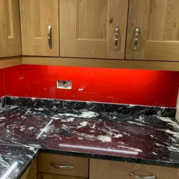 Red Sparkle Splashback (2)