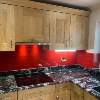 Red Sparkle Splashback (3)