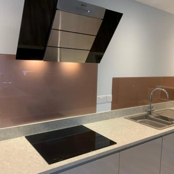 Rose Gold Kitchen Splashback (1)