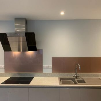 Rose Gold Kitchen Splashback (2)