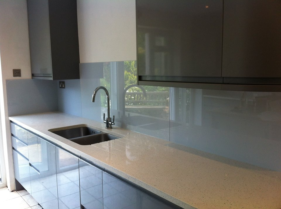 Ice Kitchen Glass Splashback